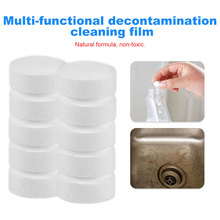 Household Cleaning Tools 10pcs/set Multifunctional Effervescent Spray Cleaner Car Cleaning Effervescent Spray Cleaner cleaner carburetor spray foam abro 283g