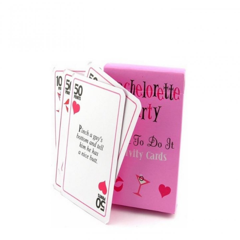 Fun Bachelorette Party Games Cards Dare To Do It Cards Wedding ...