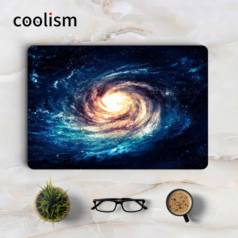 Milk Way Vortex Laptop Sticker Decal for Apple Macbook Pro Air Retina 11 12 13 15 inch Mac HP Acer Protective Full Cover Skin