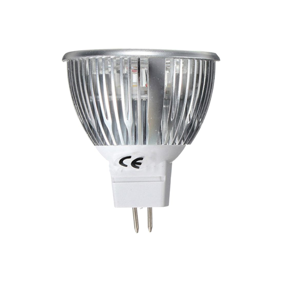 MR16 Pure / Warm LED Light Bulb Pure White - MR16-6W-3LED 12V 4