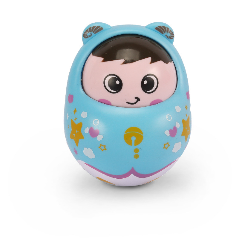 Roly-poly baby Mobiles bell Nodding Tumbler baby rattles with sound cute baby toys fun for Newborn Gift