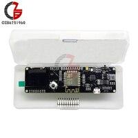 Wemos ESP8266 ESP 12F 0 96 Inch OLED Display CP2102 WIFI Development Board With 18650 Battery