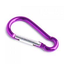 SEWS Aluminum Carabiner Camp Snap Hook Keychain Hiking – Purple