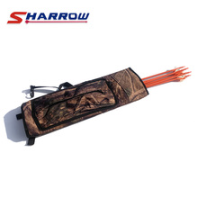 1 Pc Archery Bow And Arrow Shoulder Quiver Pouch Shooting Bags