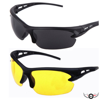 I Key Buy 1PC Windproof Sunglasses Men And Women Cycling Glasses Battery Car Driver Goggles image