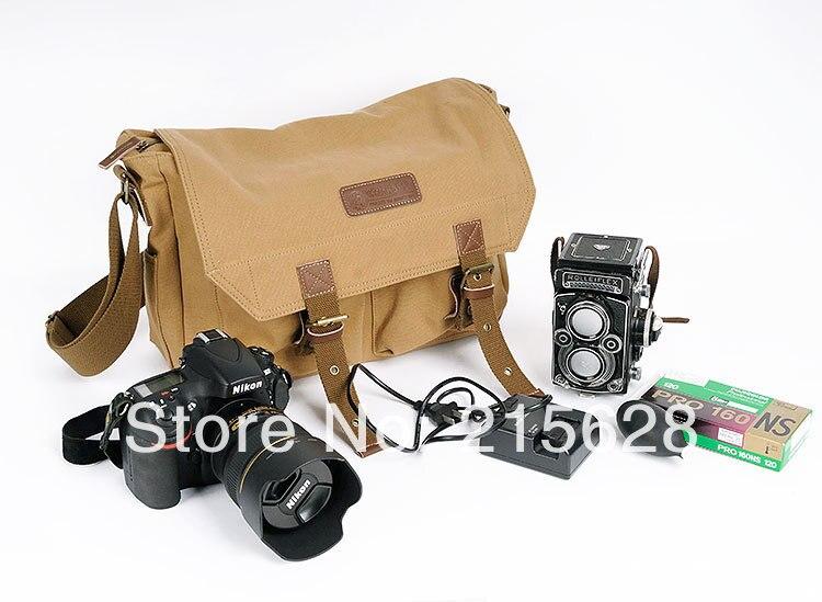 Sac photo en toile pour canon eos 600D 1100D 60D 650D 550D 70D 7D Nikon D3000 D3100 D3200 D5000 D5100 D5200 D5300 D7000 D7100 D90