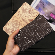 все цены на QIJUN Brand Painted Flip Wallet Case For ZTE Blade L3 blade L5 Plus ZTE L7 Phone Cover Retro College Protective Shell DIY онлайн