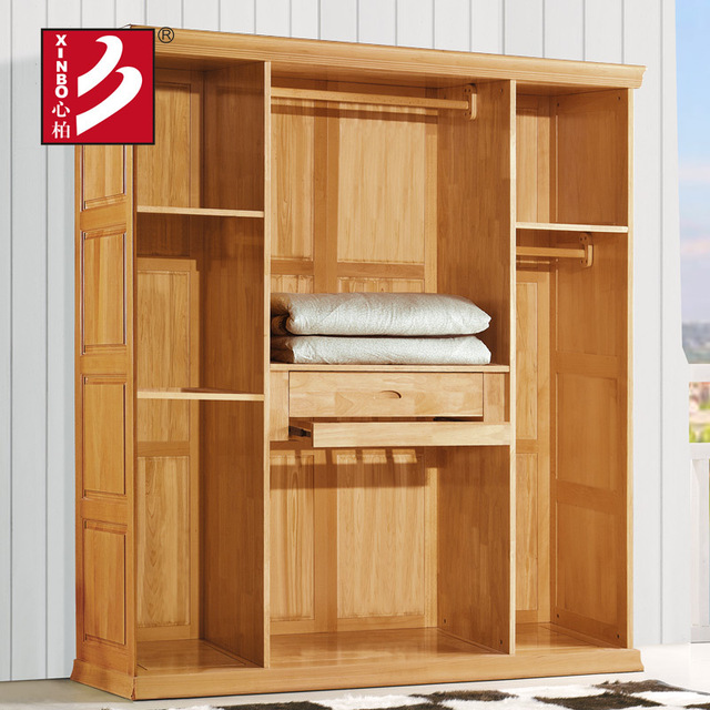 modern design wardrobe item wooden wardrobe cabinet closet 4 folding doors bedroom furniture. Black Bedroom Furniture Sets. Home Design Ideas
