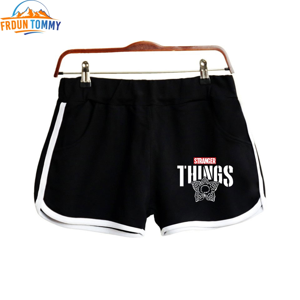 Stranger Things 2D Fashion Printed Shorts For Women Casual Streetwear Shorts New Arrival Hot Sale Girls Sexy Summer Wear Shorts
