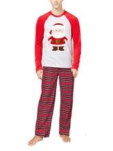 Fashion Newest Pop Family Christmas Pajamas Set Parent-child Long-sleeved