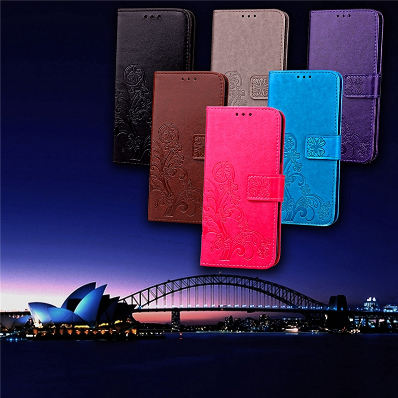 Phone Etui For Coque Samsung Galaxy S5 Case Luxury Leather Wallet Flip Cover For Samsung S5 Neo S5