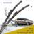 """Lâminas de limpador para volkswagen jetta 6 (a partir de 2012) 24 """"+ 19"""" fit botão tipo braços do limpador apenas hy-075"""