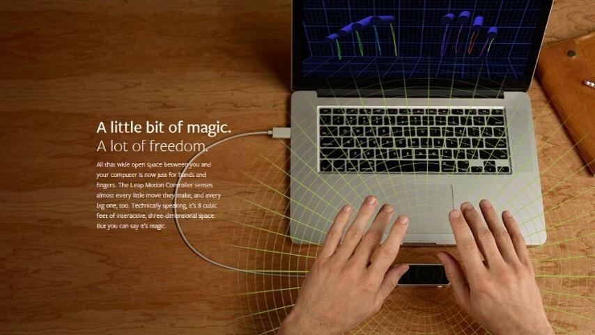 Original Leap Motion 3d Somatosensory Controller Mouse Gesture