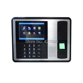 TCP/IP 4.3 inch TFT LCD Fingerprint Time Attendance Fingerprint Time Recorder