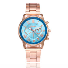 relojes mujer 2019 Luxury Brand Geneva Rose Gold Wrist Watches For Women Stainless steel Quartz Watch Ladies Clock bayan saat xiniu 2017 women watches geneva brand fashion dress ladies watches leather women analog quartz wrist watch relojes mujer