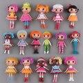Nueva caliente 16 unids/set Lalaloopsy coleccionistas figura de acción juguetes de navidad regalo de la muñeca
