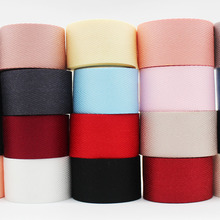 50 Yards Twill Ribbon 3/8 9 MM 5/816 1 25 1-1/2 38 Black Red White