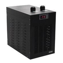 1/10HP آلة تبريد مياه الحوض مبرد مبرد دعوى أقل من 160L خزان الأسماك. آلة تبريد مياه الخزان البحري