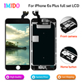 100Pcs Full Replacement LCD For iPhone 6S plus LCD Display Home button+Front camera+3D touch Touch Screen Digitizer Assembly