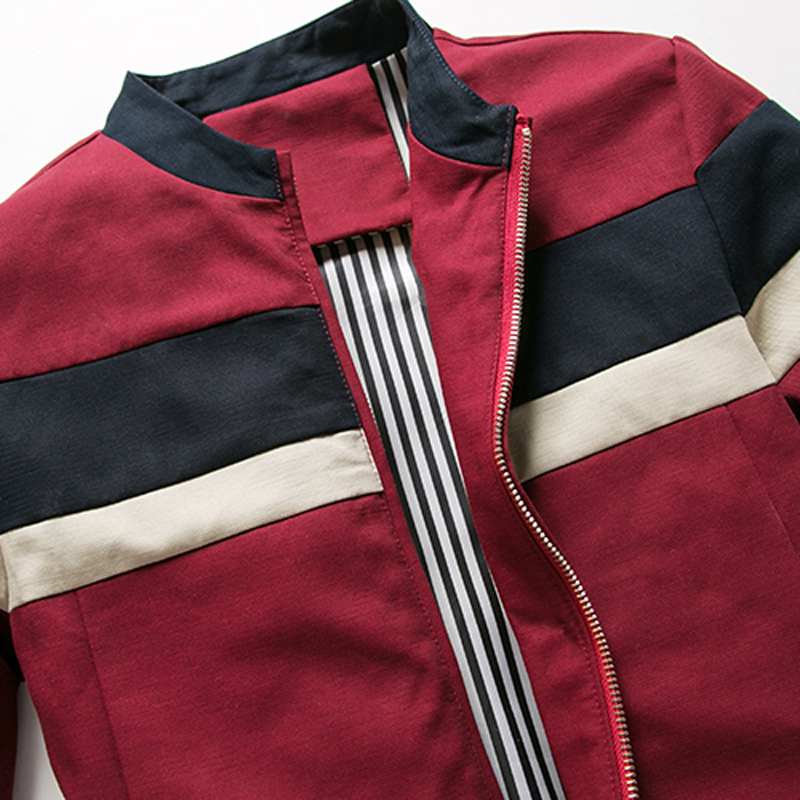 iSurvivor 2019 Men Spring Patchwork Jackets and Coats Jaqueta Masculina Male Casual Fashion Slim Fitted Zipper iSurvivor 2019 Men Spring Patchwork Jackets and Coats Jaqueta Masculina Male Casual Fashion Slim Fitted Zipper Jackets Hombre