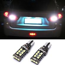 2 шт. Canbus безотказный SMD 2835 W16W светодиодный T15 921 912 автомобильный резервный светильник, лампа заднего хода для Mitsubishi Asx