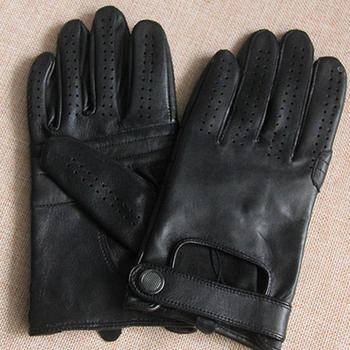 BTLIGE Mens Classic Driving Gloves Soft Genuine Real Lambskin Leather New Screen Mittens Clothing Accessories Dropship 1