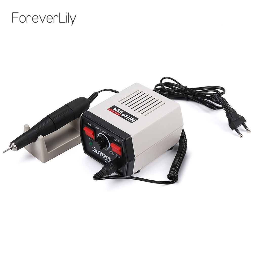 65W Electric Nail Drill Machine 35000rpm Strong 204 Electric Manicure Set Pedicure Machine Professionals Electric Nail File