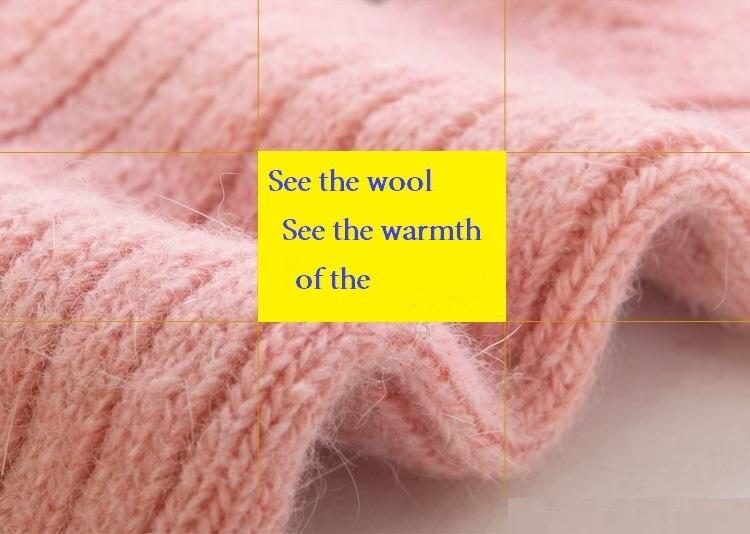 Rabbit wool socks Women Girls Extremely thermal Socks Winter Warm Sleep Bed Floor Home clothing accessories