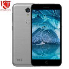 Original ZTE Blade A520 handy 5,0 zoll 2 GB RAM 16 GB ROM MT6735 Quad core 1280*720 Android 6.0 Dual SIM 8MP kamera 2400 mAh