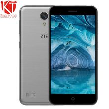 Original ZTE Blade A520 Mobile phone 5.0 inch 2GB RAM 16GB ROM MT6735 Quad core 1280*720 Android 6.0 Dual SIM 8MP camera 2400mAh