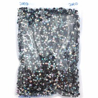 Ss6 Ss8 Ss10 Ss12 Ss16 Ss20 Ss30 WhiteAB Iron On Hot Fix Crystal Rhinestones Wholesale DMC