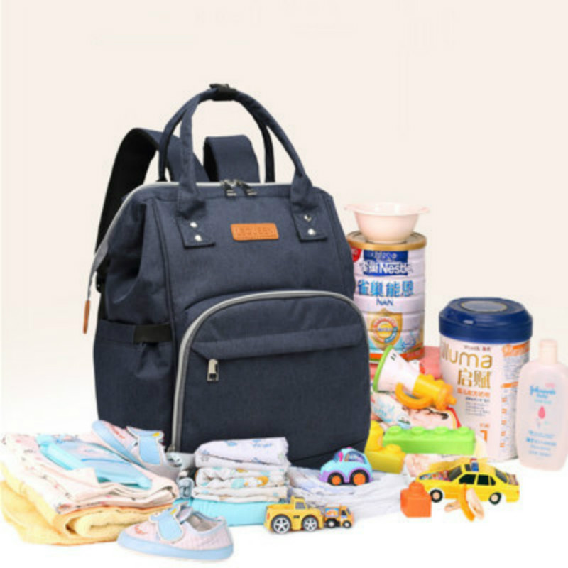 New Fashion Backpack Multi function Mummy Bag for Stroller Baby Stroller Accessories Large Capacity Maternal and Child Package