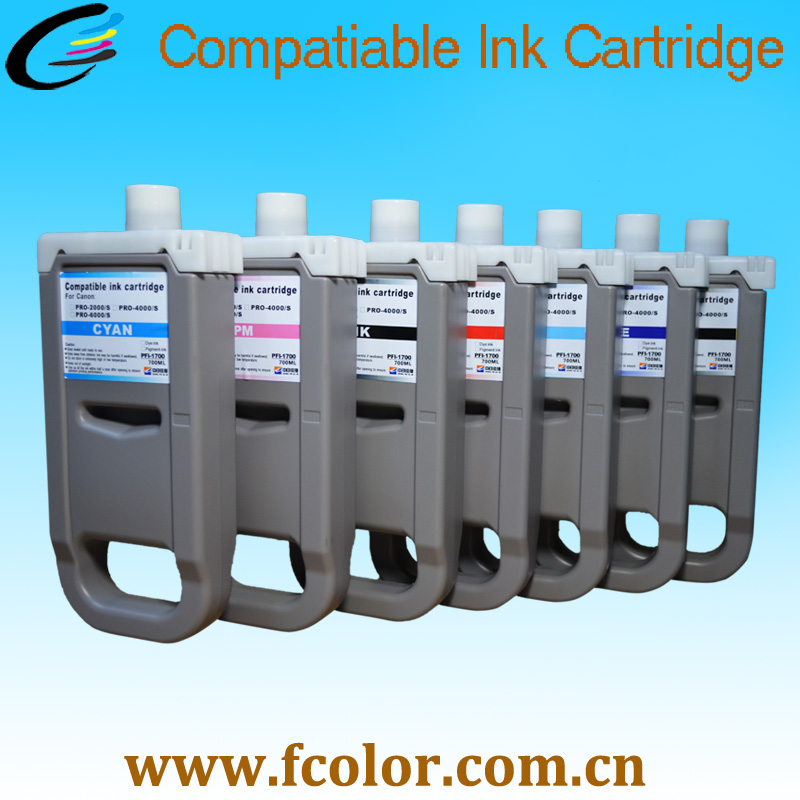 700ml 1700 Pigment Ink Cartridge For Canon Pro2000 Pro 2000 Pro4000 Pro 4000 Pro6000 Pro 6000 Printer Replacement Ink ламинат kronospan castello classic ясень ривендел 32 класс