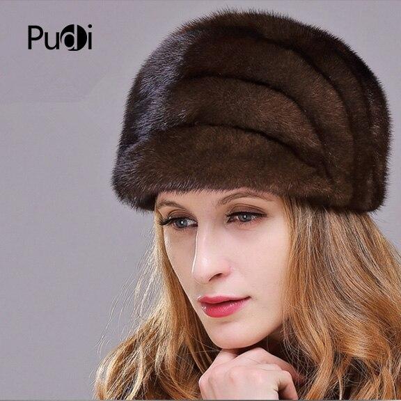 HM023 женские зимние шапки натуральная норковая шапка, зимний женские теплые Шапки целый кусок норки шляпы