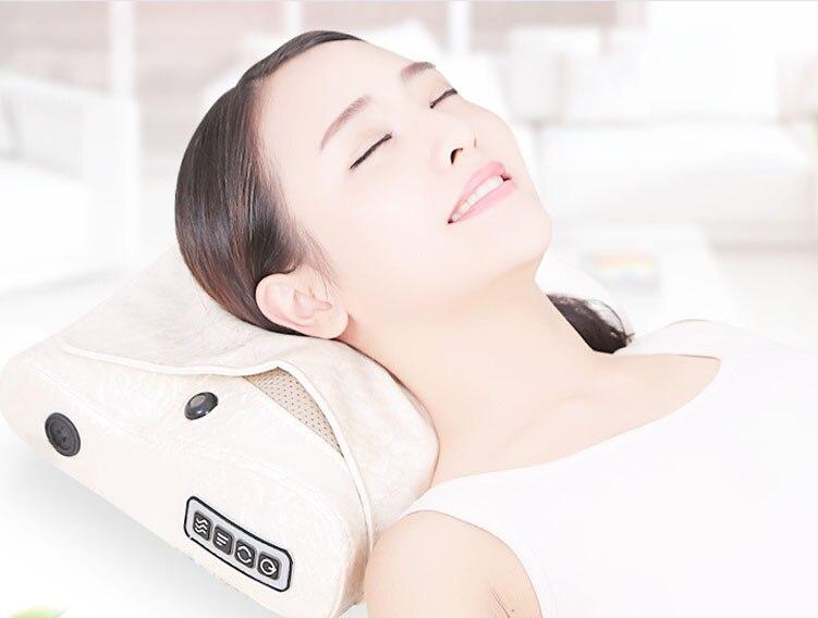 Electric Massage Pillow Neck Massager Cushion Relax