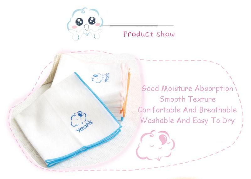 Square Cotton Cartoon Baby Bath (6)