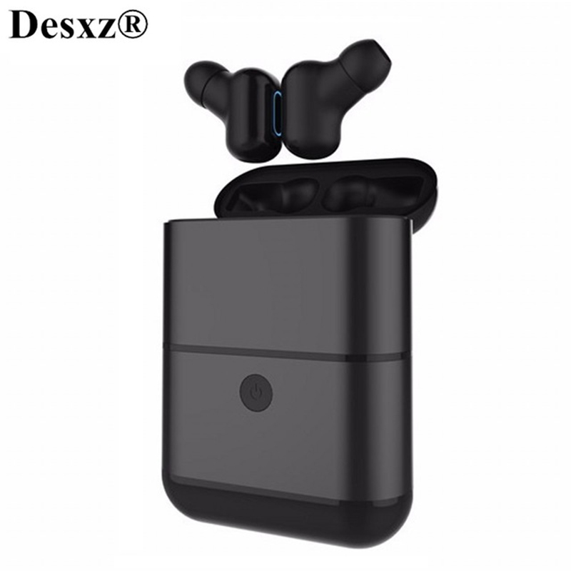 Bluetooth 4.2 Headphones Hifi Earphone wireless stereo earphones headset with Mic Charger Box Earbuds for xiaomi iphone huawei picun wireless headphones bluetooth earphones stereo headset sport earphone bass earbuds with mic for iphone xiaomi mp3 music