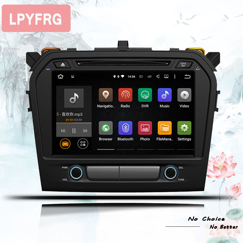 2 din android 9 0 car DVD player for Suzuki grand vitara 2015 2016 17 2018