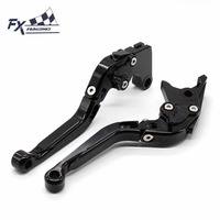 CNC Aluminum Adjustable Motorcycle Folding Extendable Brake Clutch Lever For Yamaha TMAX 500 T max 500 tmax500 2008 2010 2009