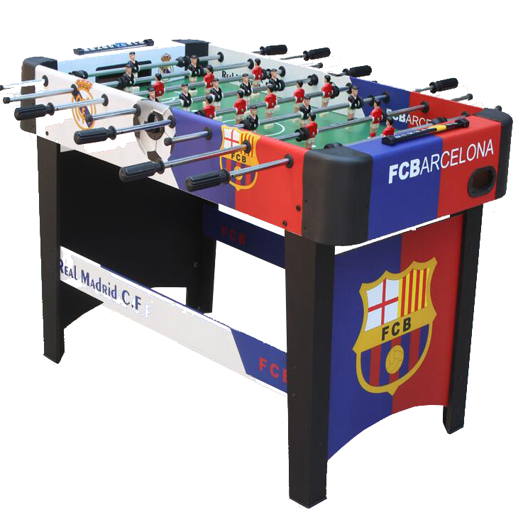 Genuine counter children desktop table football machine sports parent - child game large  8- pole football hot sell desktop manual indoor football machine parent child sports interactive toys table ball game machine