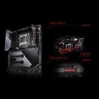 Рог RAMPAGE VI EXTREME Материнская плата ASUS X299 плата Поддержка LGA2066 DDR4 двойной M.2 карты расширения рабочего Материнская плата