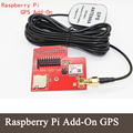 Raspberry Pi Add-On  GPS Module GPS Add-on GPS Shiled For Raspberry PI B+ With Antenna add-on GPS PI module