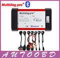 Universal Multidiag Pro+ Full 8 Car Cables TCS CDP PRO OBD2 Bluetooth Auto Scanner OBDII 2 Car Trucks Tester Diagnostic Tool