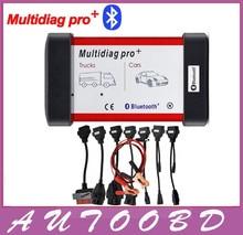 Универсальный Multidiag Pro + 8 Автомобиля Кабели TCS CDP PRO OBD2 Bluetooth Авто Сканер OBDII 2 Автомобилей Грузовики Диагностический Тестер инструмент