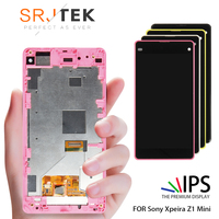 For SONY Xperia Z1 Compact LCD Display Touch Screen Digitizer Assembly Replacement M51w D5503 For SONY Z1 Mini LCD