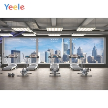 Yeele Interior Photocall Gym Equipment French Window Photography Backdrop Personalized Photographic Backgrounds For Photo Studio