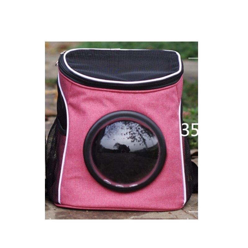 Oxford tissu Pet espace sac à dos chat respirant épaules confortable respirant Portable Aquarium fournitures espace chaton sac à dos