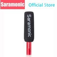 Saramonic SR-NV5 XLR кардиоидный конденсаторный микрофон с пушистым и поролоновая Ветрозащита для видеокамеры регистраторы новости сбор Micro плёнки