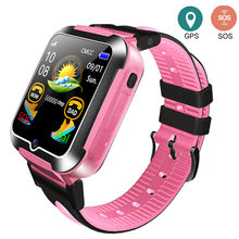 Children GPS tracker watch SOS Call Location Monitoring camera Kids Smart Watches Touch Screen Baby Wristwatch iOS Android(China)
