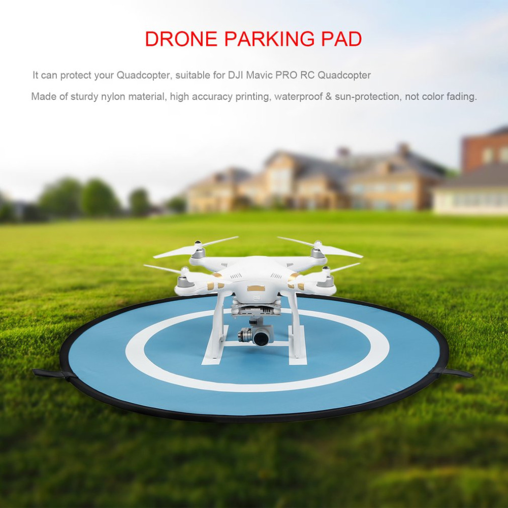 YKS 75/55 cm RC Drone Launch Pad Quadcopter Helicopter Waterproof Mini Portable Landing Pad Helipad For Racing Drone New Arrival drone helipad